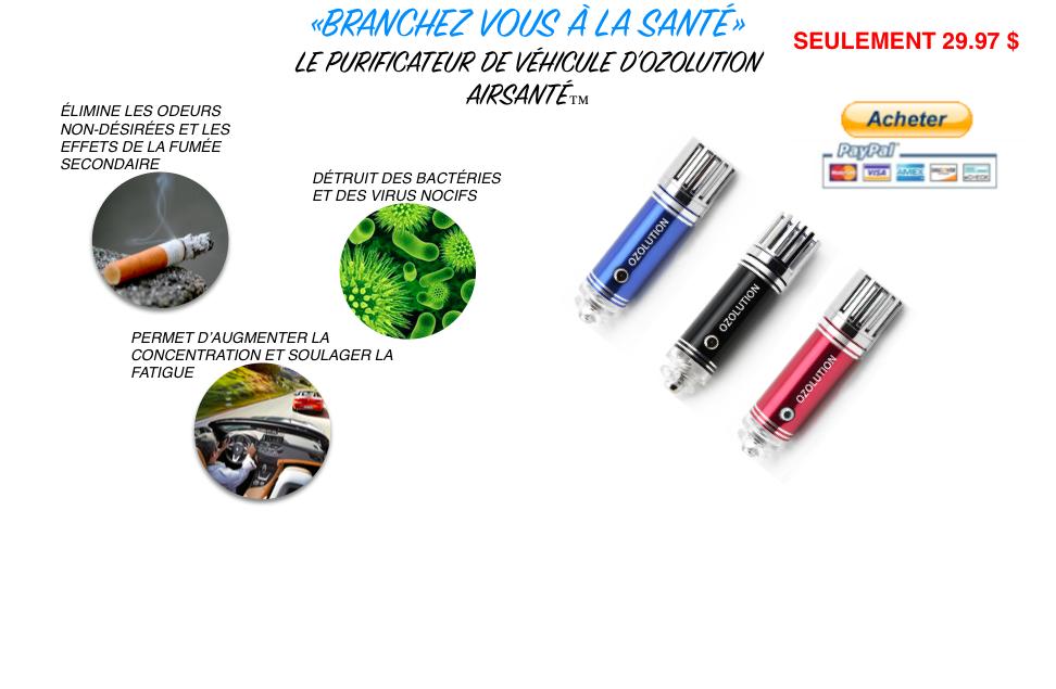FR-AIRSANTÉ-OZOLUTION-MONTREAL