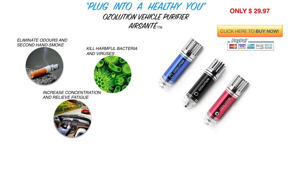 Ozolution-HealthStick-AirSante-Ozone-OdourElimination